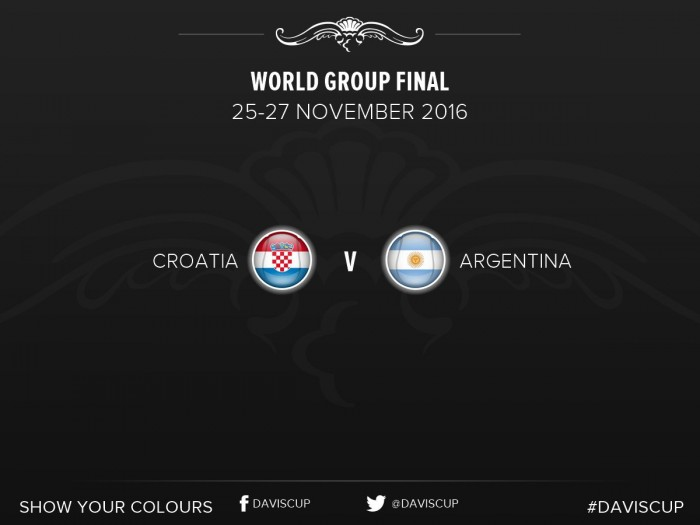 Coppa Davis, la finale: Croazia - Francia, il punto