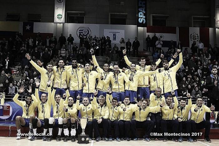 Com autoridade, Brasil conquista o Sul-Americano de Vôlei Masculino pela 31ª vez