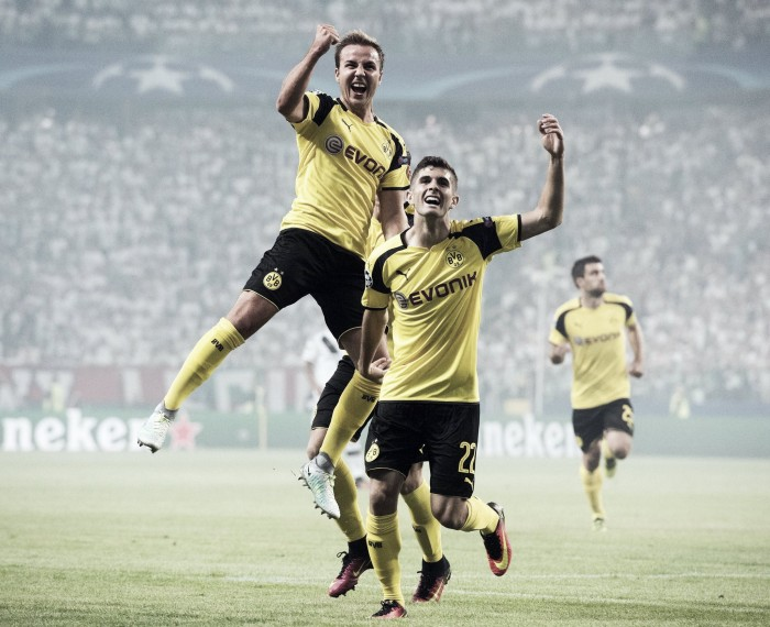 Legia Warsaw 0-6 Borussia Dortmund: Visitors announce their Champions League return in style