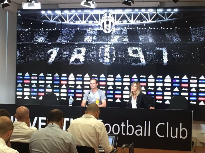 """Juve, parla Allegri verso il Cagliari: """"Rugani giocherà. Non buttiamo all'aria le certezze"""""""