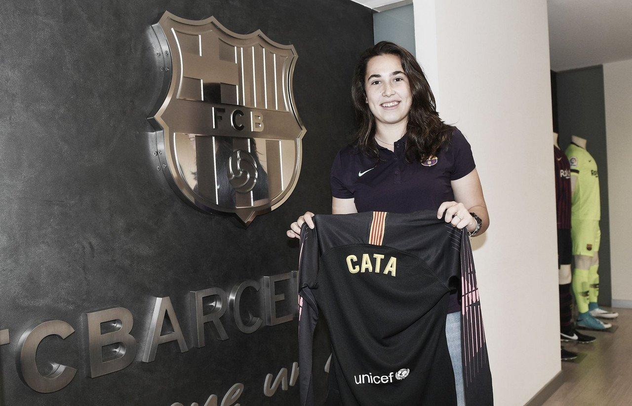 Cata Coll ficha por el FC Barcelona