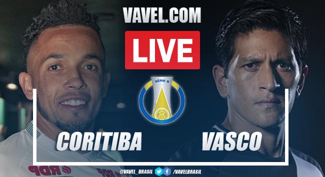 Gols e melhores de Coritiba 1x1 Vasco pela Série B