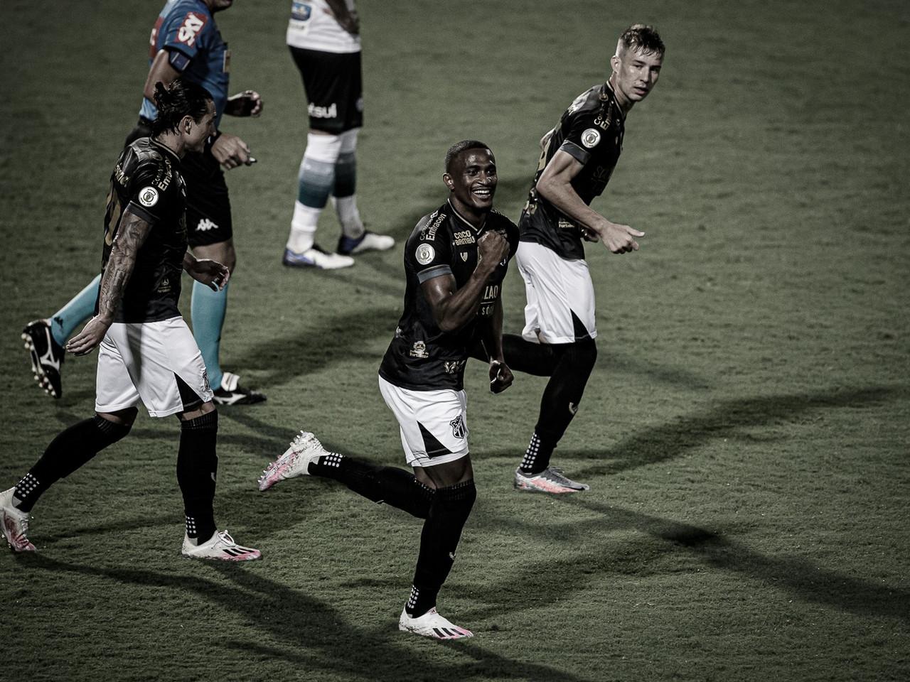 Ceará vence rebaixado Coritiba e garante vaga na Copa Sul-Americana