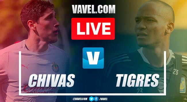 Highlights in Chivas 0-0 Tigres Friendly Match 2021