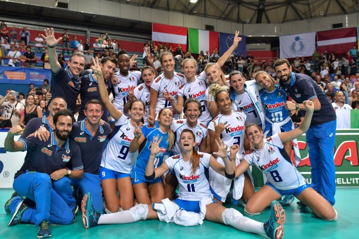 Volley F - L'Italia ha staccato il pass per gli Europei 2017 in Azerbaigian e Georgia