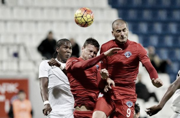 Hugo Rodallega volvió a marcar para el Akhisar