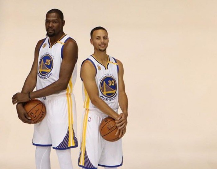 """NBA Media Day, Kerr: """"Siamo pronti al caos mediatico per Durant"""""""
