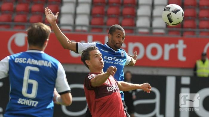 1. FC Kaiserslautern 0-0 Arminia Bielefeld: Gaus sent off in drab draw