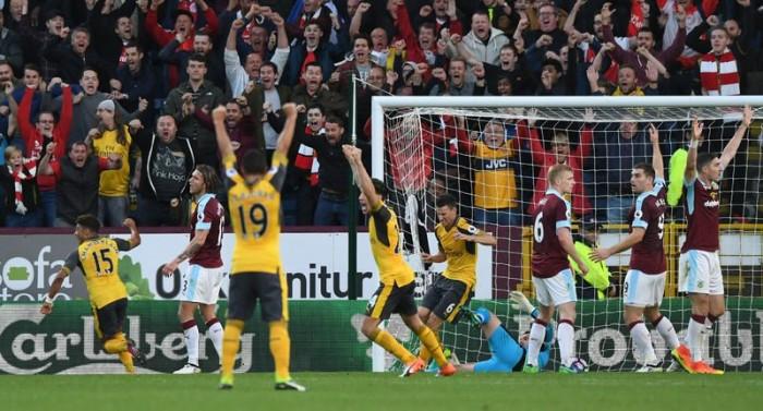 L'Arsenal lo fa strano e vince all'ultimo secondo sul campo del Burnley (0-1)