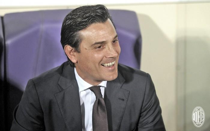 """Incredibile rimonta per il Milan, Montella: """"Si possono vincere partite anche con altre caratteristiche"""""""