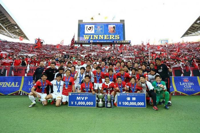 Urawa Reds logra el título de Levain Cup