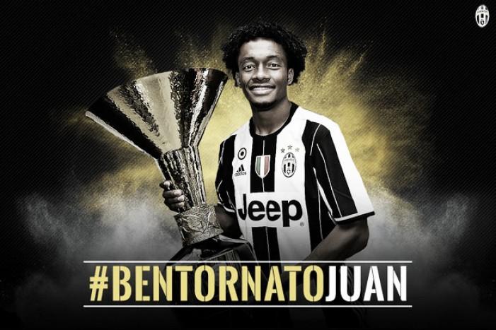 Juventus acerta retorno do meia-atacante Juan Cuadrado por três temporadas