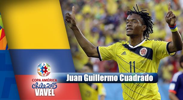 Camino a Chile 2015: Juan Guillermo Cuadrado