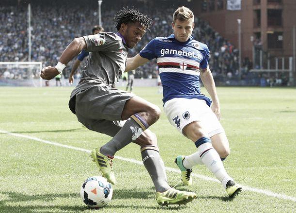 Diretta partita Sampdoria - Fiorentina, risultati live Serie A