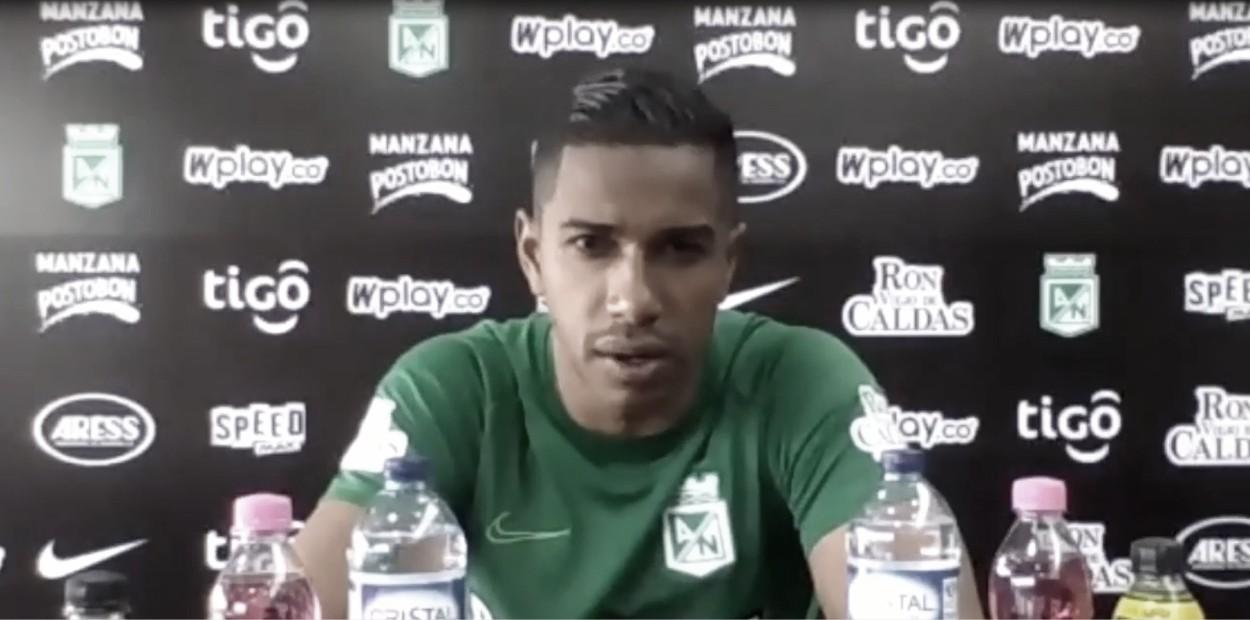 Jose Fernando Cuadrado en teleconferencia de prensa