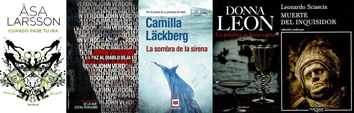 Lecturas veraniegas: novela negra y de misterio