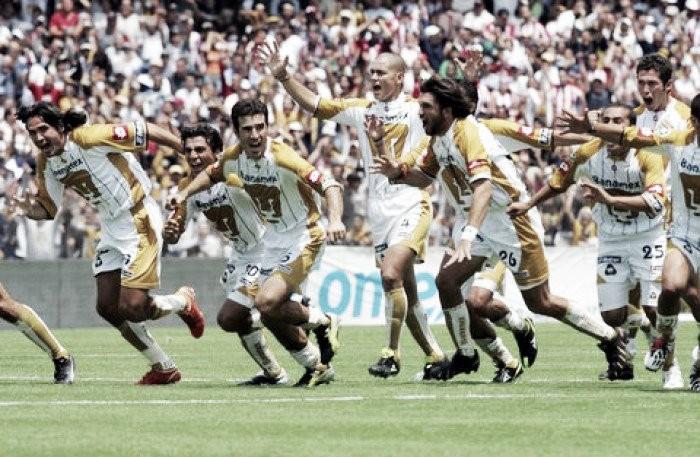 Paliza a Veracruz en CU en el Clausura 2004