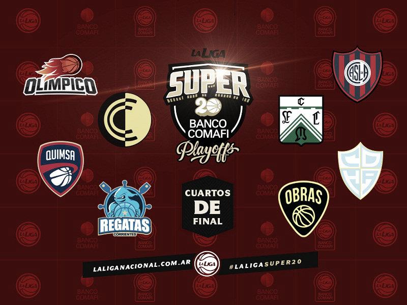 PlayOffs Super 20: Todo listo para los cuartos de final
