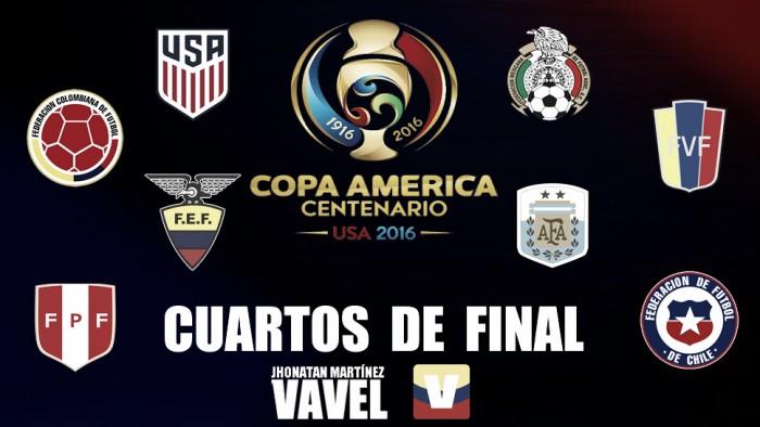 Listos los enfrentamientos para los cuartos de final de la Copa América Centenario