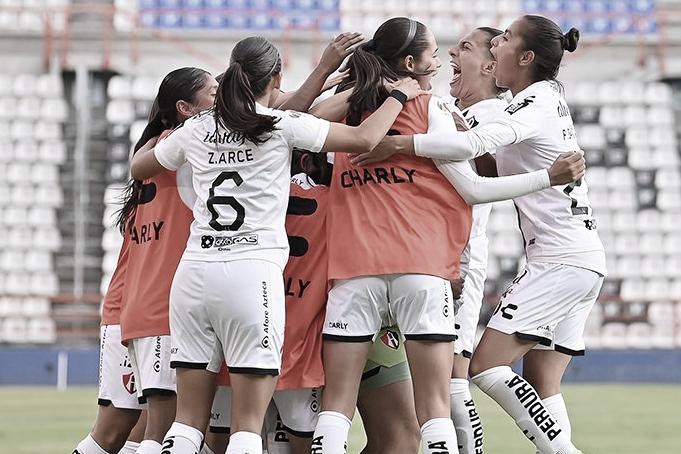 Atlas Femenil encarrila la eliminatoria con triunfo en Pachuca