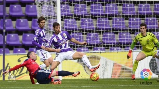 Real Valladolid - Osasuna: puntuaciones del Real Valladolid, jornada 14