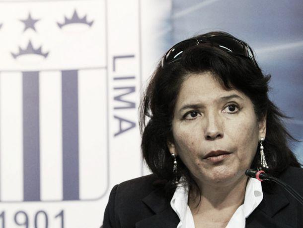Susana Cuba renunció a la administración temporal de Alianza Lima