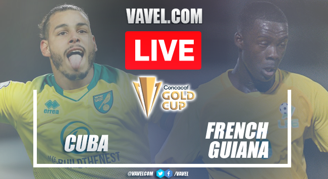 French Guiana defeats Cuba by default in 2021 Gold Cup Qualifiers