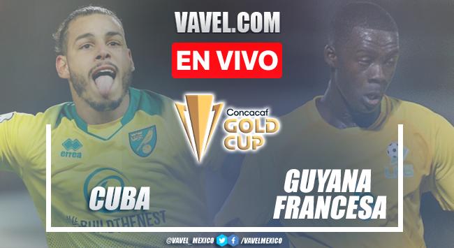 Guayana Francesa vence por default a Cuba en la Clasificación Copa Oro 2021