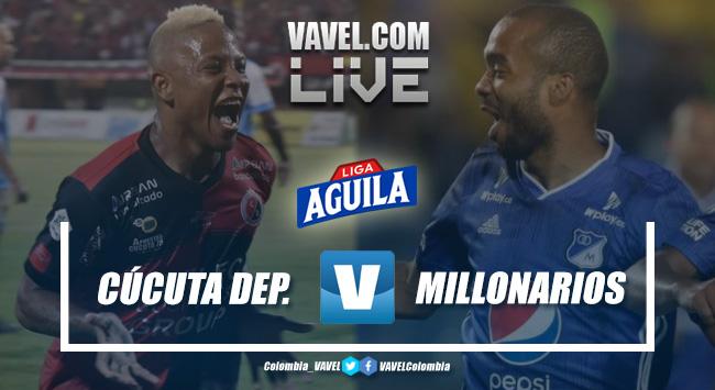Resumen Cúcuta Deportivo vs. Millonarios ( 3-1)