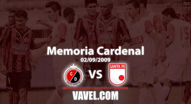 Memoria 'Cardenal': Santa Fe y una serie emocionante ante Cúcuta por Copa Colombia