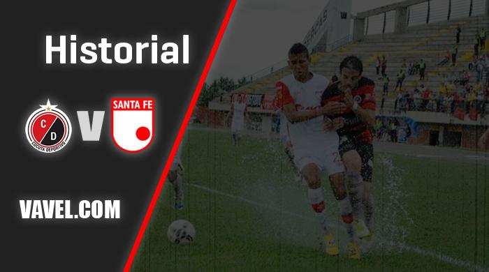 Historial Cúcuta vs. Santa Fe: los 'leones' llevan la ventaja