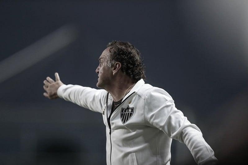 Com vantagem na final, Cuca avalia empate do Atlético como positivo