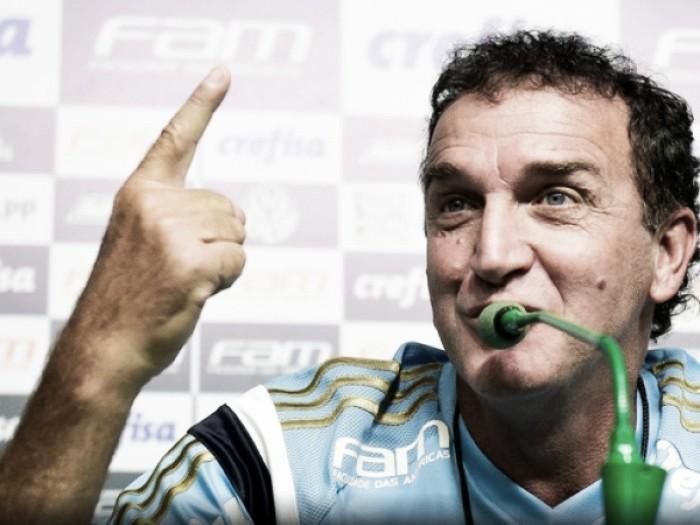 Cuca tenta afastar fraco retrospecto como treinador diante do Santos