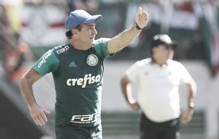 """Cuca reconhece mau desempenho contra Atlético-MG: """"Não foi o dia de ganhar"""""""