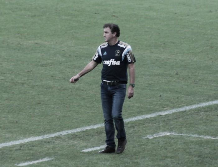"""Cuca não se anima com vantagem sobre Flamengo: """"Ainda não ganhamos nada"""""""