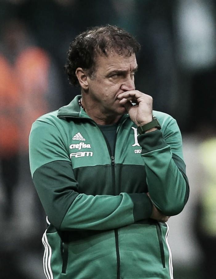 """Cuca comenta sobre gol anulado do Corinthians: """"Na minha visão, lance faltoso"""""""