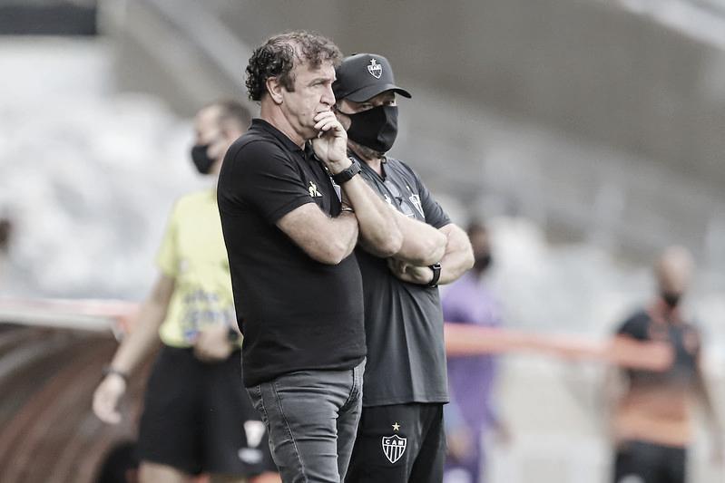 Cuca reconhece adversário melhor, mas afirma que Atlético-MG não jogou mal em derrota