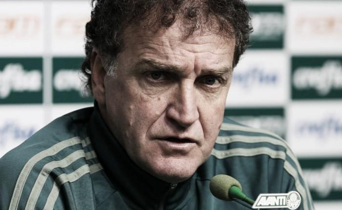 """Cuca comenta sobre eliminação na Libertadores e lamenta empate contra Vasco: """"Poderia ter vencido"""""""
