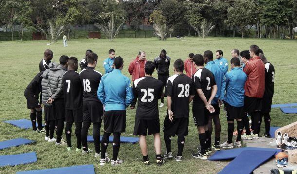 Cúcuta Deportivo adelanta trabajos en Bogotá