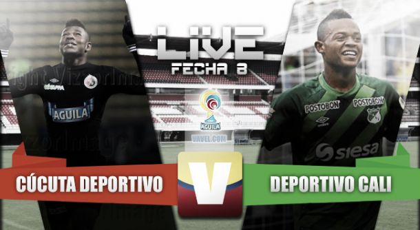 Resultado Cúcuta Deportivo - Deportivo Cali (2-4)