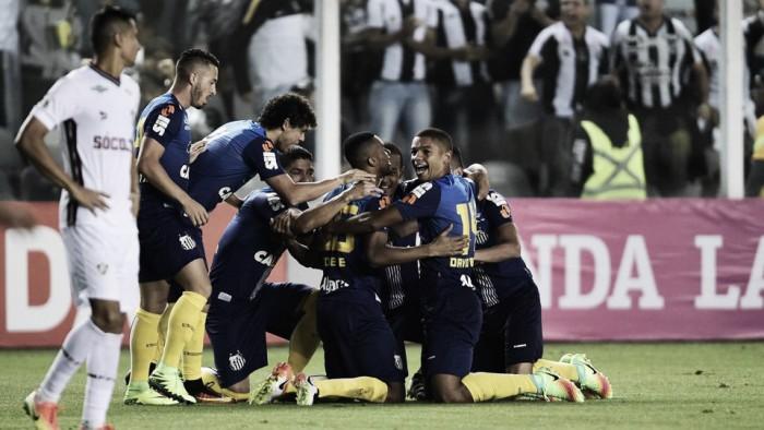 Ricardo Oliveira decide, Santos vence e encerra sequência de vitórias do Fluminense