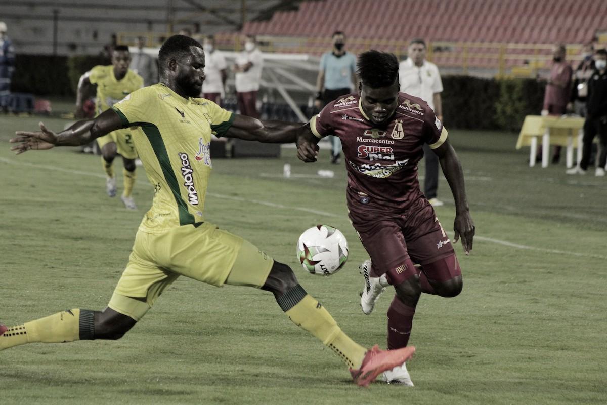 Deportes Tolima y Atlético Bucaramanga no pasaron del cero