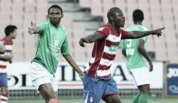 Wilson Cuero da la primera victoria de la temporada al Granada B