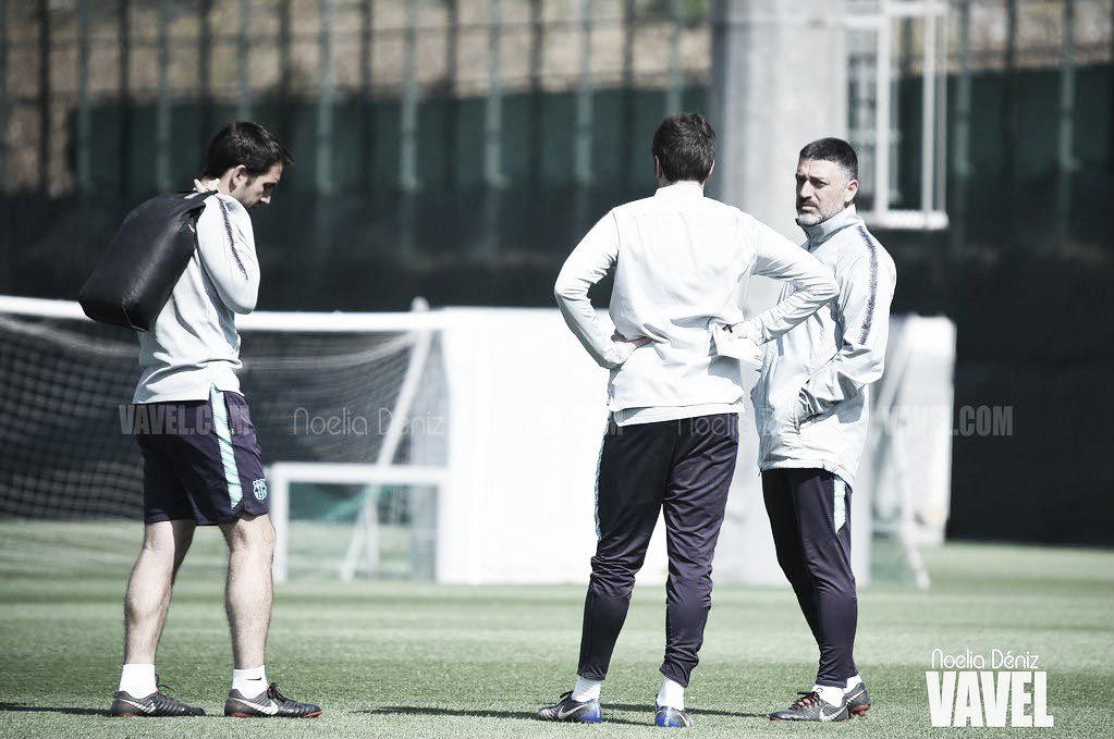 El Barça B comienza la pretemporada