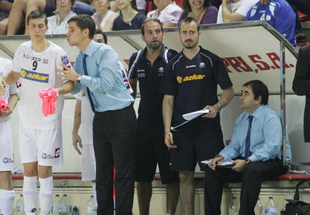 Continuidad total en el cuerpo técnico del Azkar Lugo