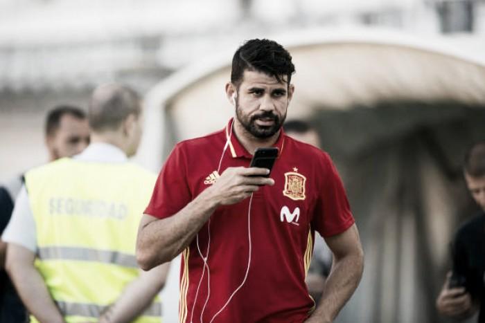 Simeone festeja retorno de Diego Costa, mas não garante titularidade