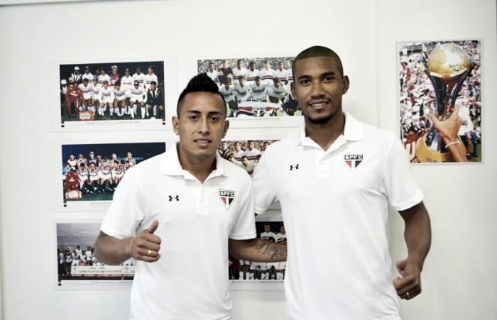 São Paulo libera Wilder, recebe Cueva e anuncia atacante Getterson, do J. Malucelli