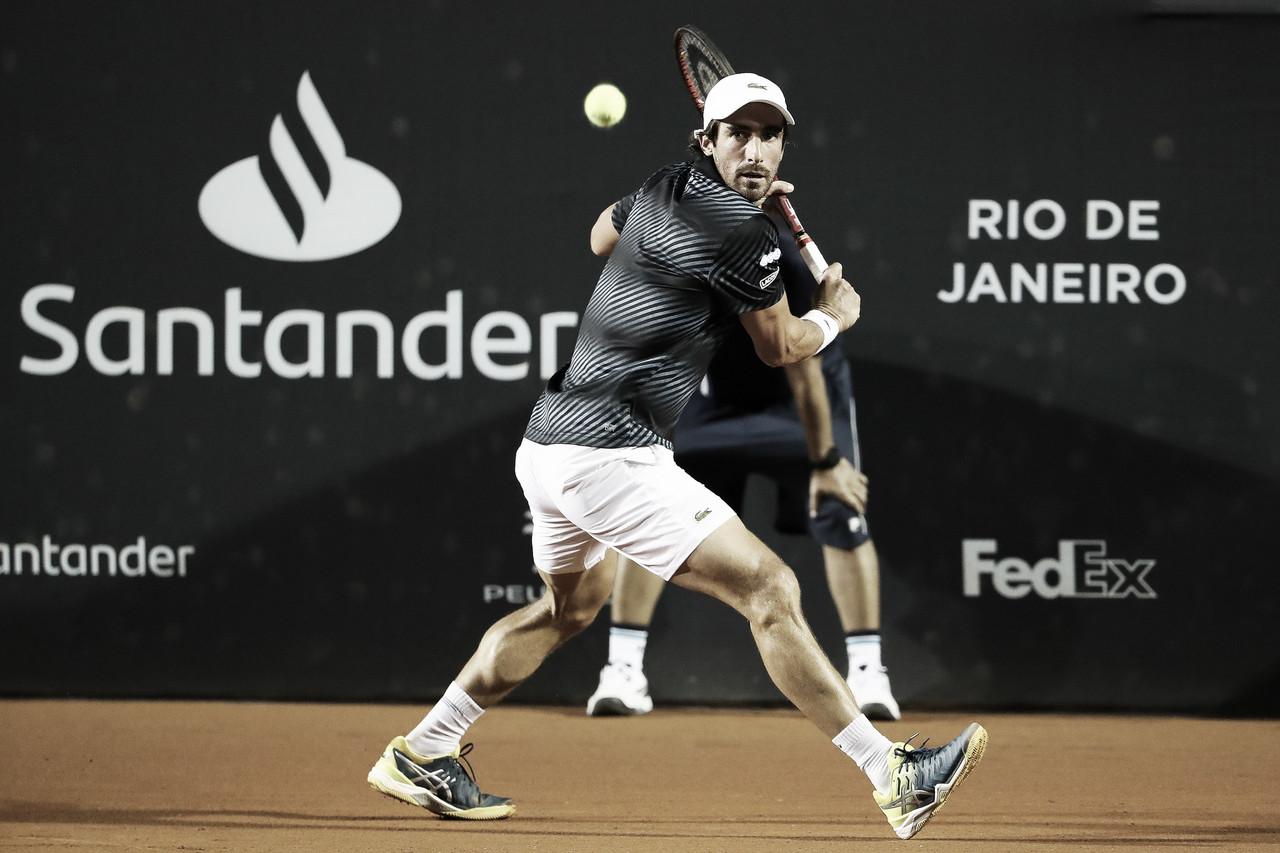 Cuevas vence batalha diante de Ramos-Vinolas e vai às semis do Rio Open