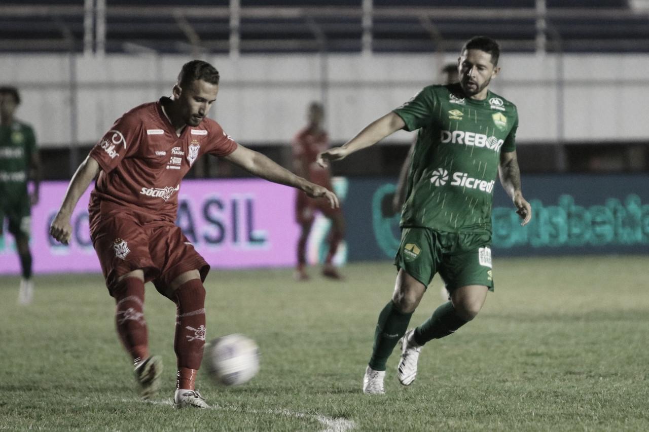 Cuiabá empata com Sergipe e avança na Copa do Brasil