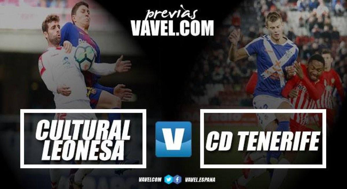 Previa Cultural Leonesa – CD Tenerife: la ocasión idónea para seguir escalando